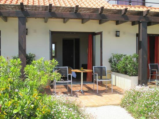 Bed & Breakfast Villa Laguna : A private terrace