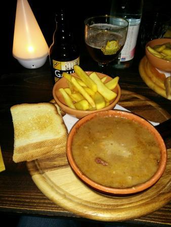 La Tana del Drago Fumante: Spezzatino di cinghiale con polenta e patate.  Una vera leccornia!
