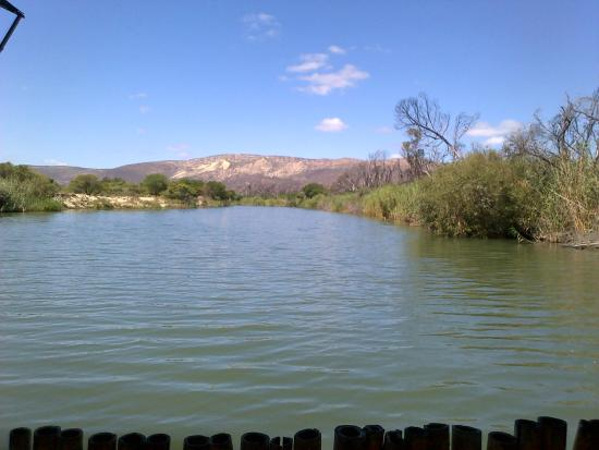Nerina Guest Farm: Going down the River