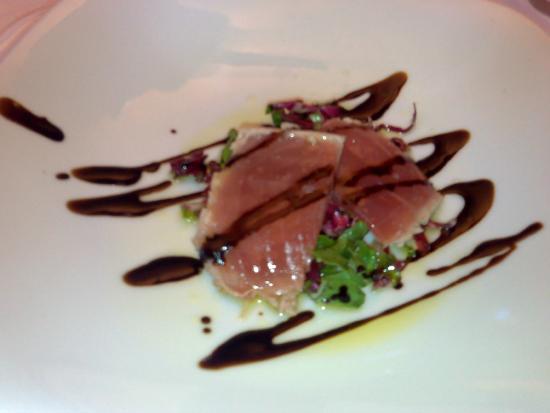 Osteria Caserma Guelfa: scottata di tonno (divina)