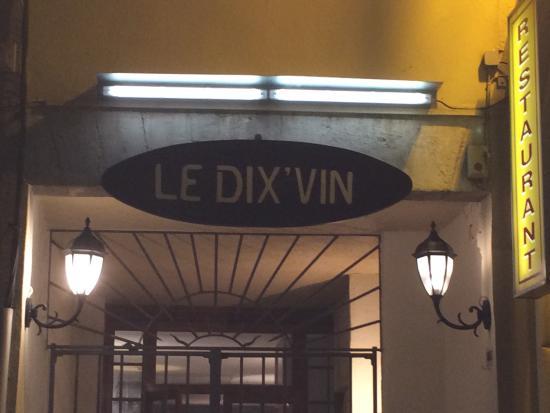 Le Dix'vin: 35 Avenue Gambetta