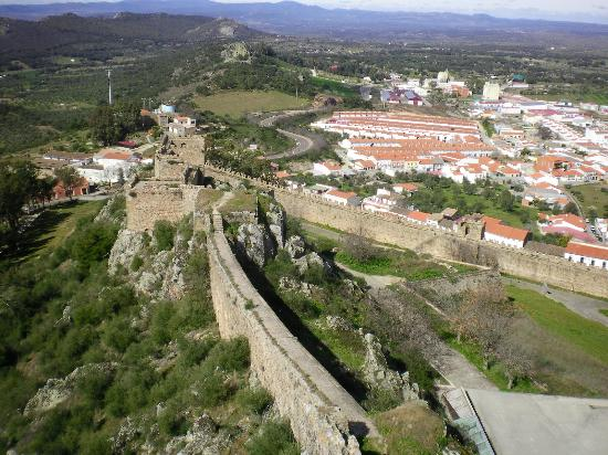 Alburquerque, España: View from one of the towers