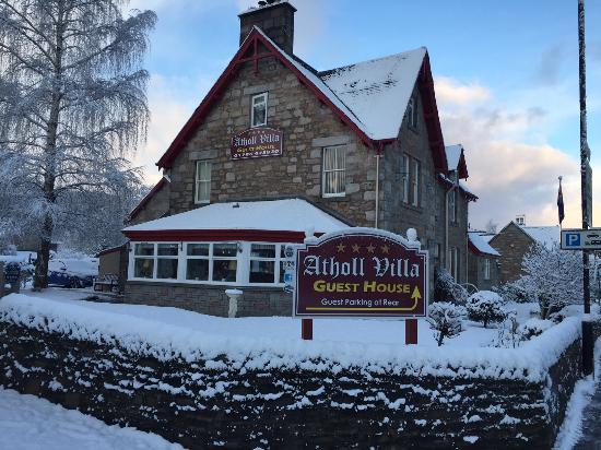 Atholl Villa winter