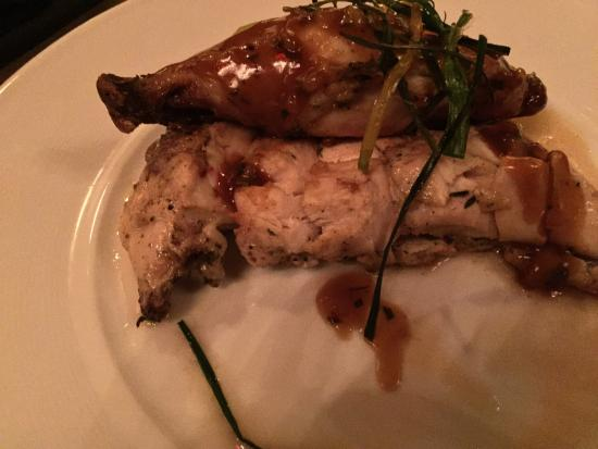 BR Prime Steakhouse : Organic chicken