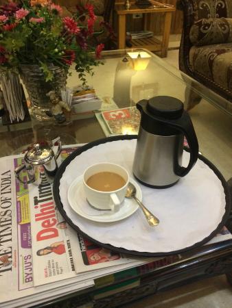 Wood Castle: endless amounts of chai