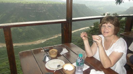Oribi Gorge Nature Reserve: Leopard Rock Restaurant