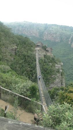 Oribi Gorge Nature Reserve: Lake Eland suspension bridge
