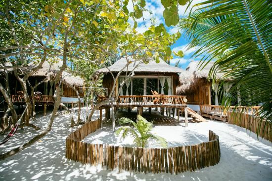 Villa pescadores tulum hotel mexique voir les tarifs for Villas tulum
