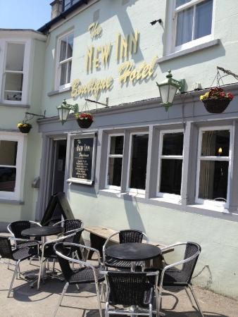 No. 35 at The New Inn: Front of our Bar, Restaurant & Rooms