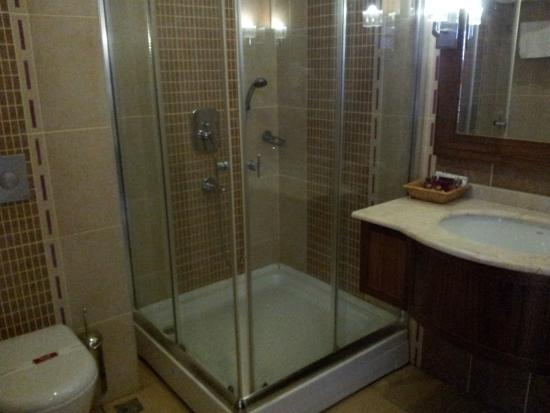 Liva Hotel: Bathroom