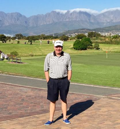Strand Golf Club: At least the view in the background is stunning