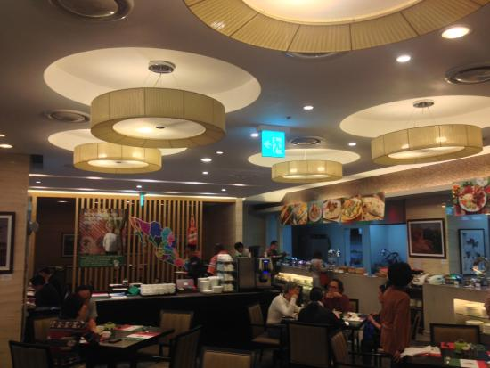 Holiday Inn Gwangju: Restaurante moderno