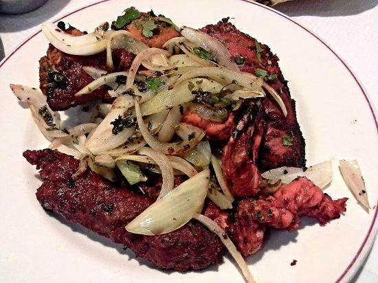 The Rajah Restaurant: Mixed Tikka grill.
