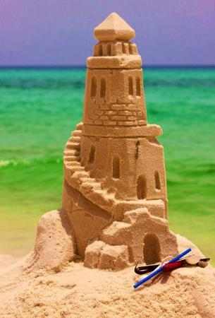 Beach Sand Sculptures