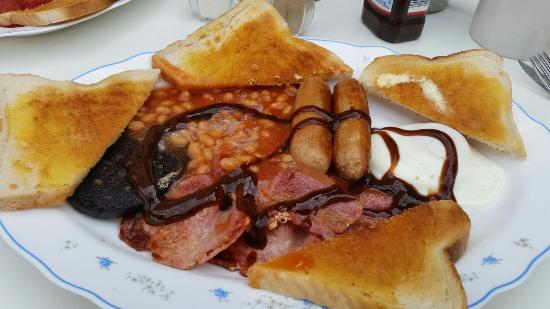 Corky's Penny Farthing Benidorm: The perfect breakfast
