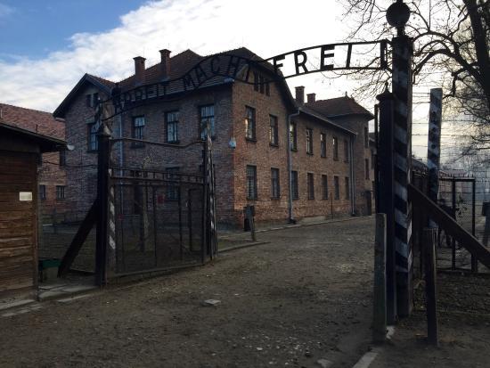 Oswiecim, Poland: Arbeit macht frei