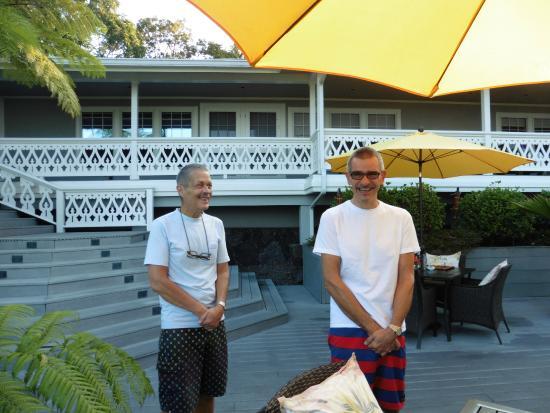 Ohi'a Park Estate: Robert und Daniel