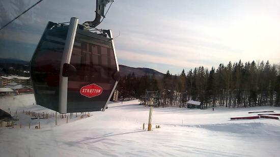 Stratton Mountain: View from the gondola