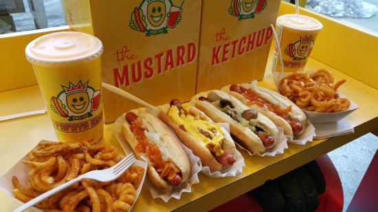Papaya King Hot Dogs