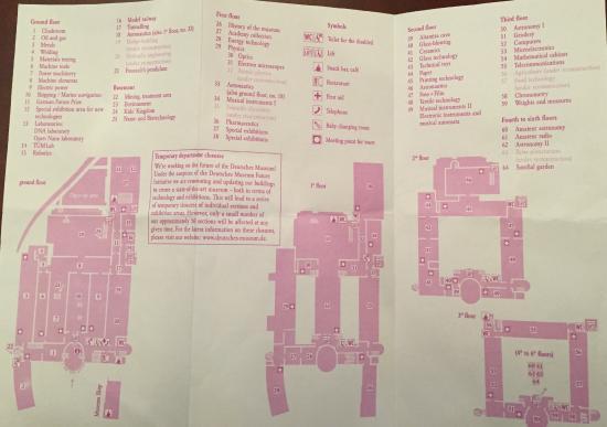 map of museum Picture of Deutsches Museum Munich TripAdvisor