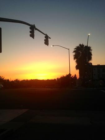 Hampton Inn and Suites San Clemente: Sunset view