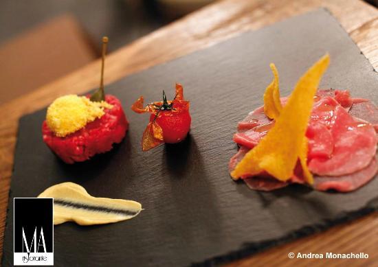 """Legnano, Italien: Le nostre """"Crudità di filetto Piemontese"""""""