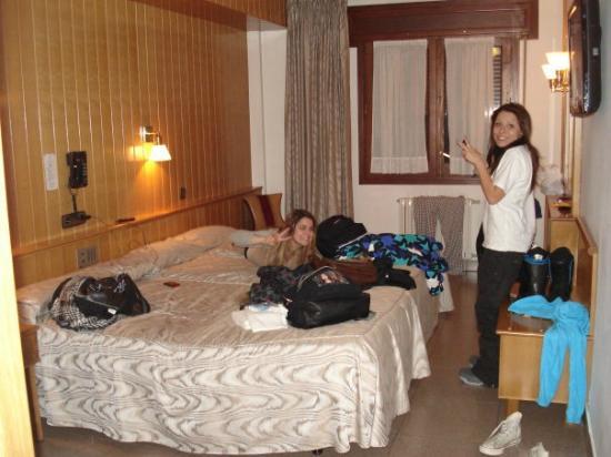 """Hotel Jaume I: las camas tan super """"comodas"""""""