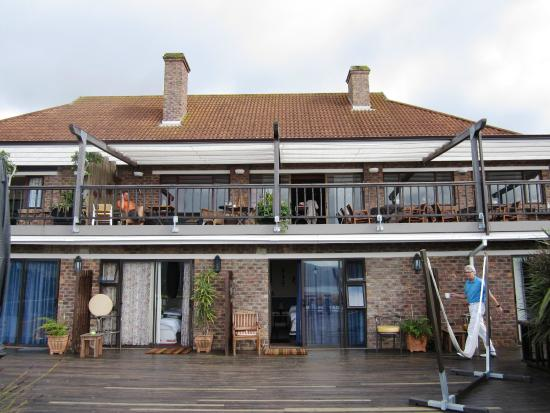 Villa Mulligan: Terrasse - Zimmer