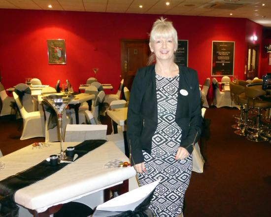 Bolton, UK: Shirley is our events organiser, give her a call to discuss your requirements on 01204 381811