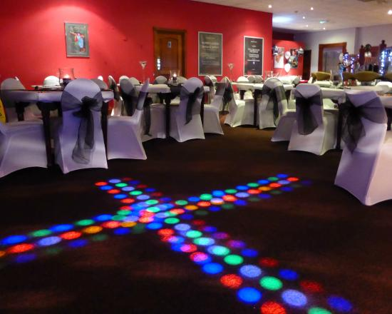 Bolton, UK: Our events room can be arranged any way you like, including the dance floor.