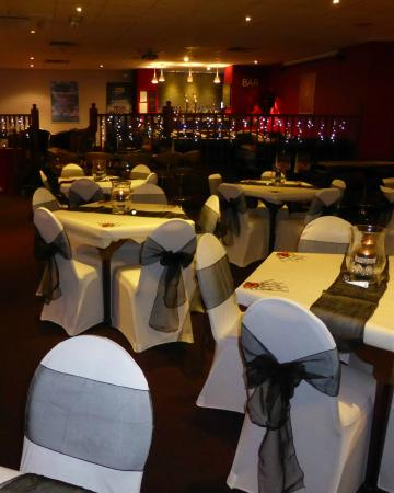 Bolton, UK: A great size room that can accommodate up to 100 guests.