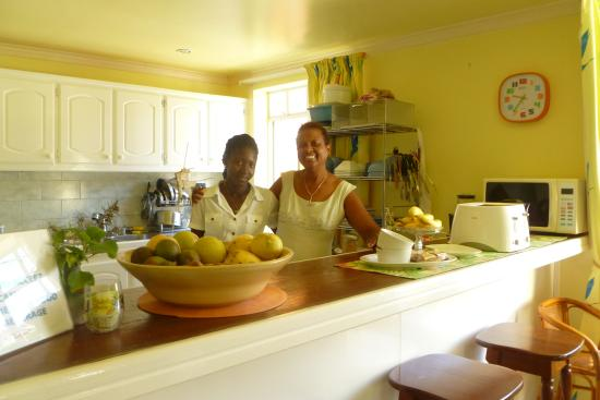 Habitat Terrace: Owner, Cheryl and Emmi