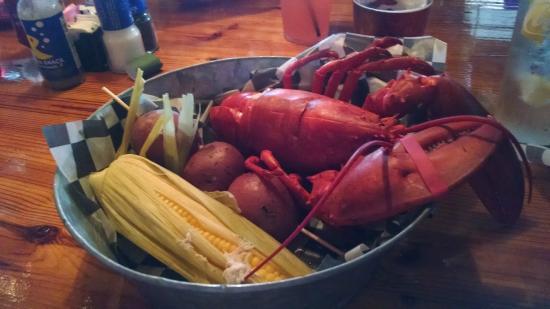 NSB Seashack : Lobster pot at PJ's