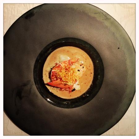 Waldhotel Fletschhorn : Homard dans son jus!un goût extraordinaire!