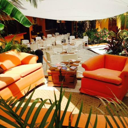 Villas Miramar : Sala lounge Restaurante El Jardin
