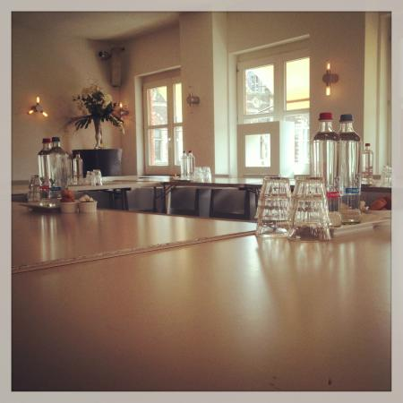 Cafe Restaurant Central: Witte Zaal vergadersetting