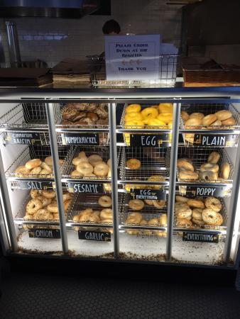 Photo of American Restaurant Rosenberg's Bagels at 725 E 26th Ave, Denver, CO 80205, United States
