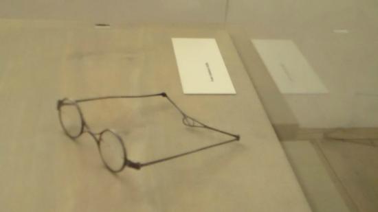 Schubert Geburtshaus: occhiali