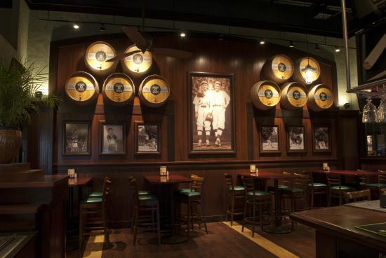 Jake N Joes Sports Grille Keg Wall