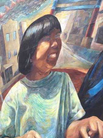 Mural Arts Program of Philadelphia - Mural Tours : Mural in Chinatown