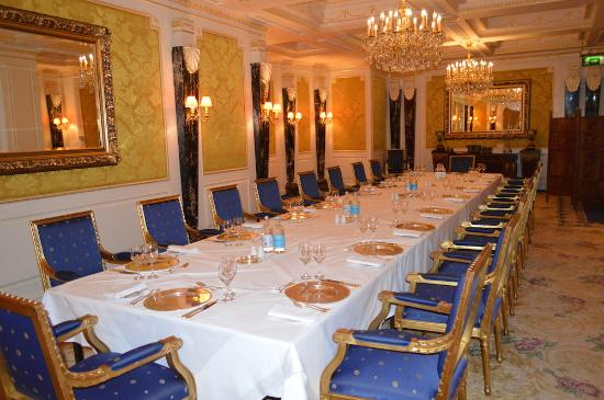 Our Private Dining Room - Picture of 1880 at The Bentley London ...