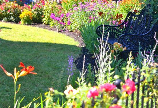 Union Gables Inn Saratoga Springs Ny Lotus Flower In Coy Fish Pond