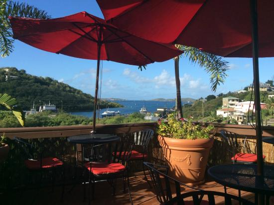 St. John Inn: View from the patio.