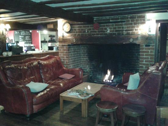 The Lindsey Rose: Cosy fire place