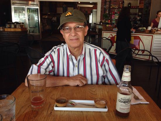 Artisinal Dish: Lunch out with Dad.