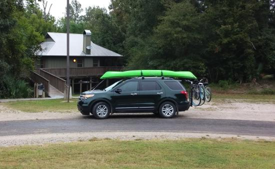 Palmetto Island State Park : Ready for the park!