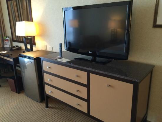 DoubleTree by Hilton Chicago - Arlington Heights : Nice sized TV and good channel selection