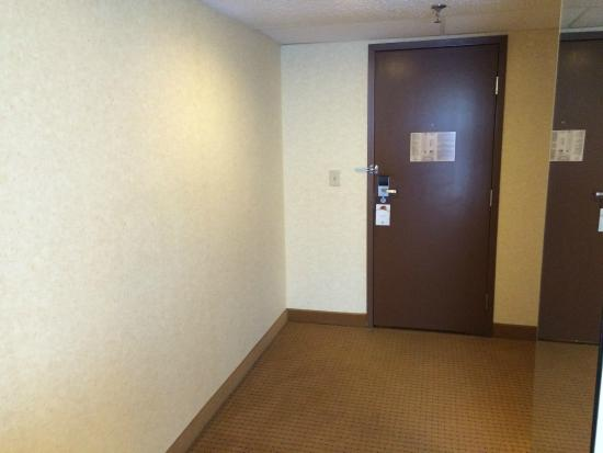 DoubleTree by Hilton Chicago - Arlington Heights : Large entry way - wasted space.  The bathroom could have been bigger