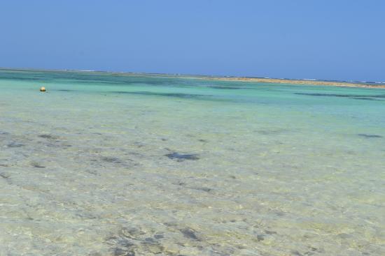 Diani Beach, Kenya: doskonala woda