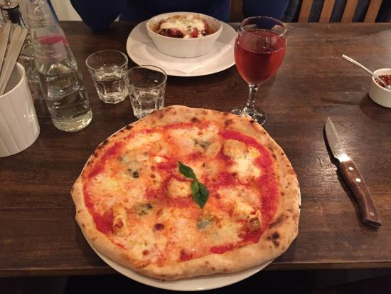 Italina: Very delicious pizza!